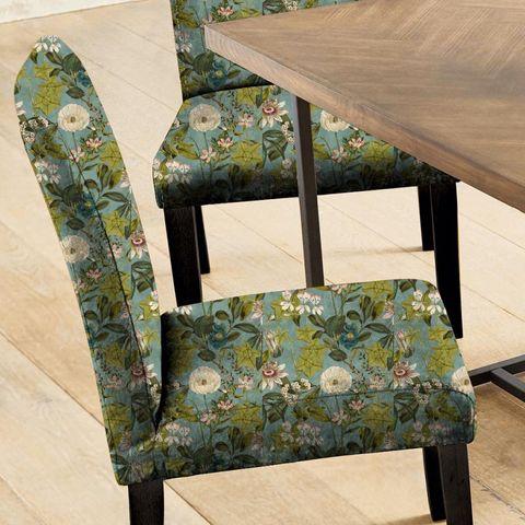Passiflora Mineral/Blush Seat Pad Cover