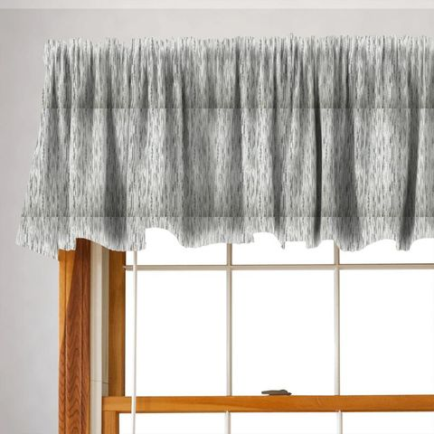 Colby Silver Valance