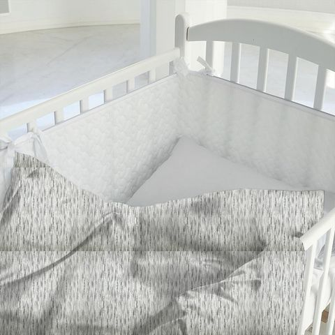 Colby Silver Cot Duvet Cover