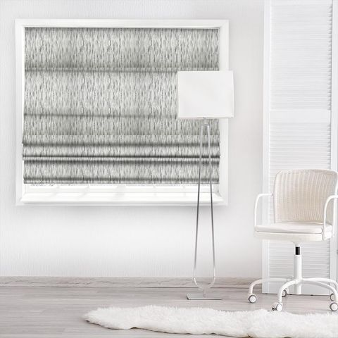 Colby Silver Made To Measure Roman Blind