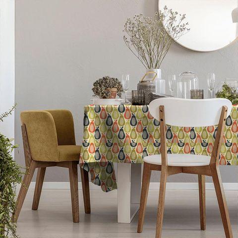 Scribble Pear Multi Tablecloth