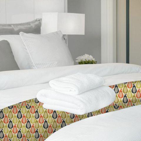 Scribble Pear Multi Bed Runner