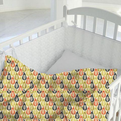 Scribble Pear Multi Cot Duvet Cover