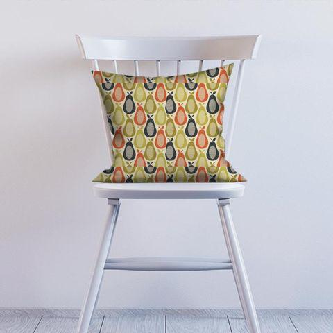 Scribble Pear Multi Cushion