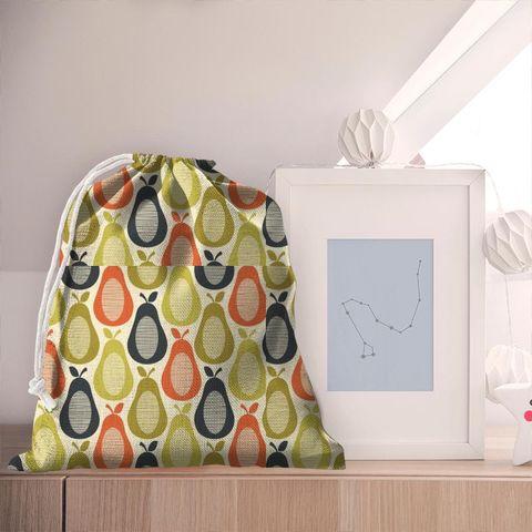 Scribble Pear Multi Pyjama Bag