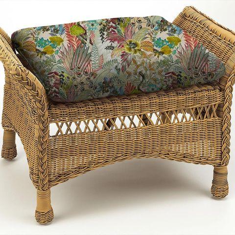 Hidden Paradise Pastel Box Cushion