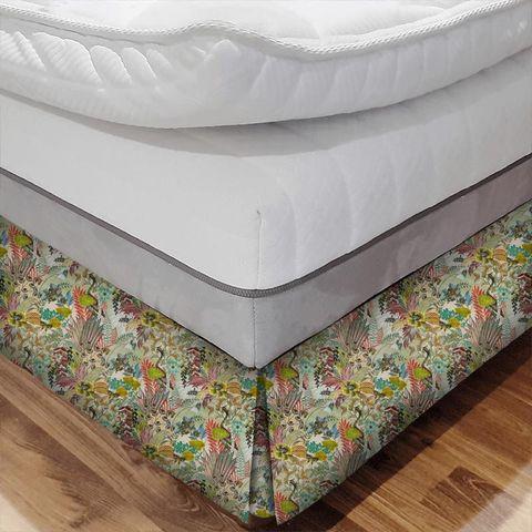 Hidden Paradise Pastel Bed Base Valance