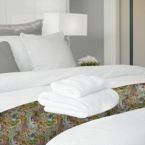 Hidden Paradise Pastel Bed Runner