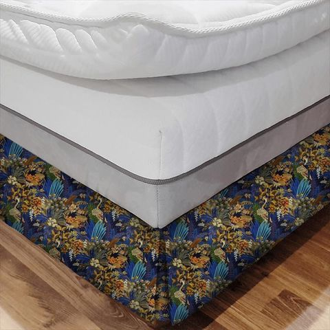 Hidden Paradise Midnite Bed Base Valance
