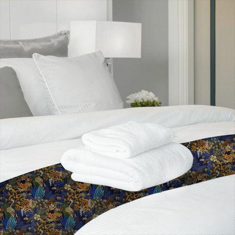 Hidden Paradise Midnite Bed Runner