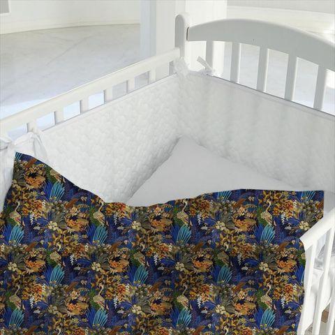 Hidden Paradise Midnite Cot Duvet Cover