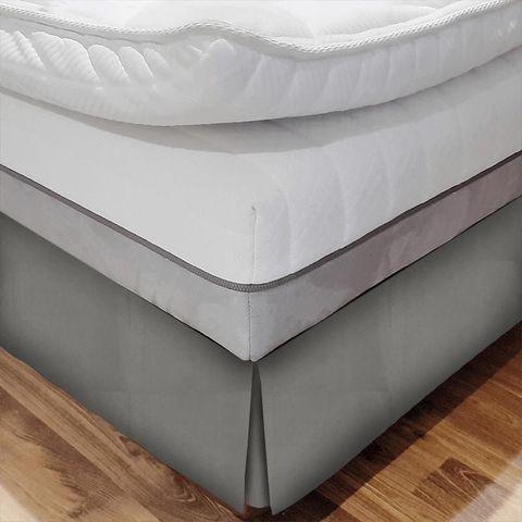 Belvoir Latte Bed Base Valance