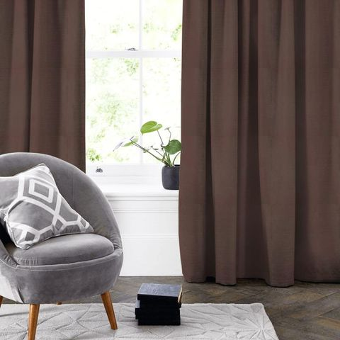Belvoir Mocha Made To Measure Curtain