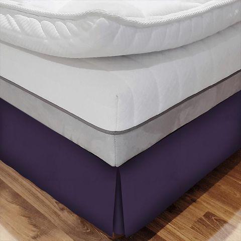 Belvoir Mulberry Bed Base Valance