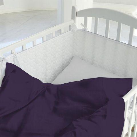 Belvoir Mulberry Cot Duvet Cover