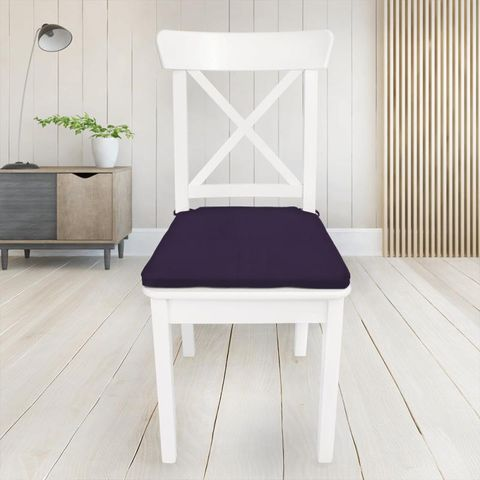 Belvoir Mulberry Seat Pad Cover