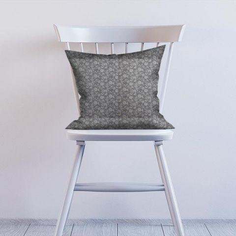 Bird Garden Charcoal Cushion