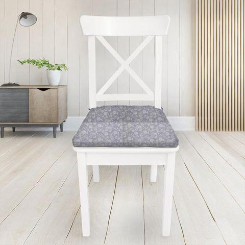 Bird Garden Lavender Seat Pad Cover