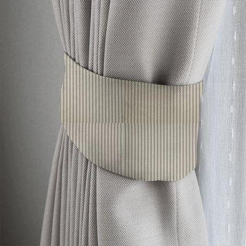 Blazer Stripe Charcoal Tieback