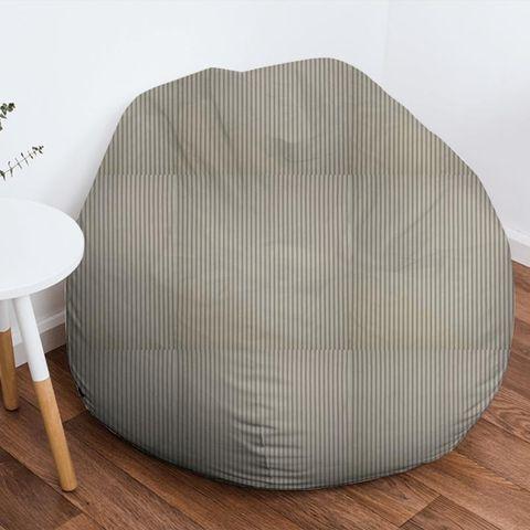 Blazer Stripe Charcoal Bean Bag