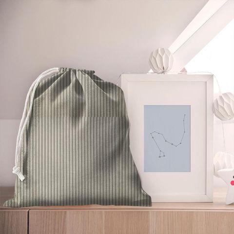 Blazer Stripe Charcoal Pyjama Bag