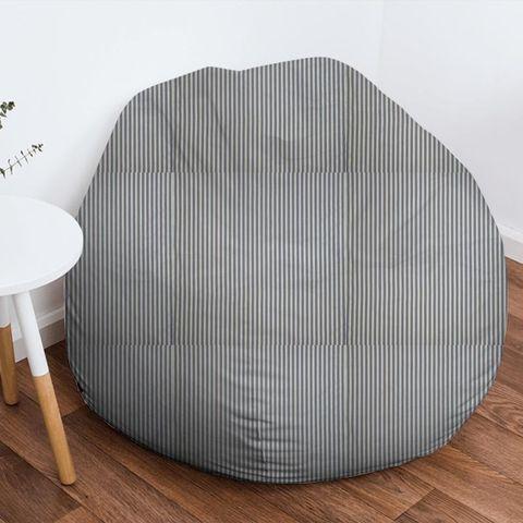 Blazer Stripe Denim Bean Bag