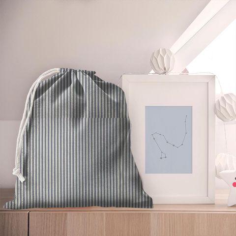 Blazer Stripe Denim Pyjama Bag