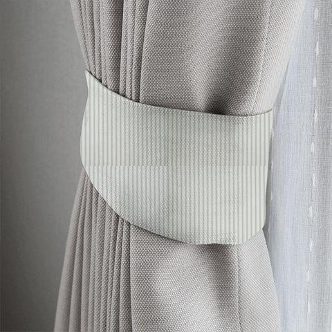 Blazer Stripe Duckegg Tieback