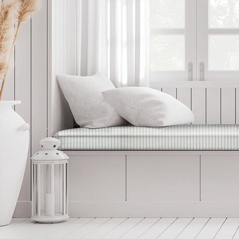 Blazer Stripe Duckegg Box Cushion