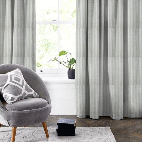 Blazer Stripe Duckegg Made To Measure Curtain