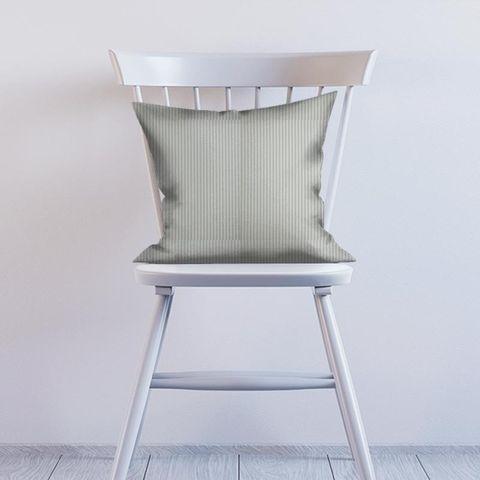 Blazer Stripe Duckegg Cushion