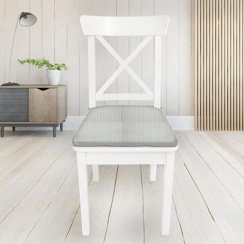 Blazer Stripe Duckegg Seat Pad Cover