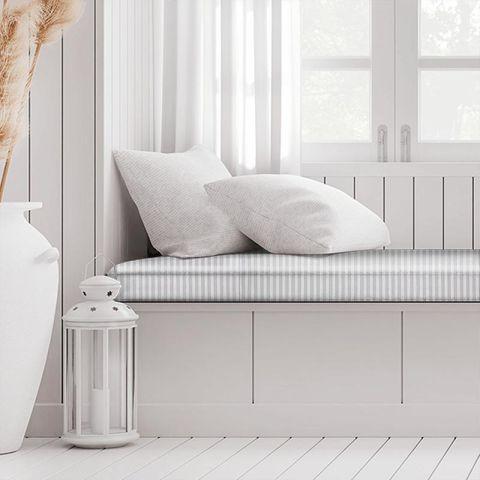 Blazer Stripe Lavender Box Cushion