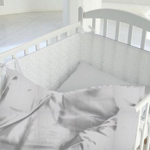 Blazer Stripe Lavender Cot Duvet Cover