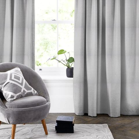 Blazer Stripe Lavender Made To Measure Curtain