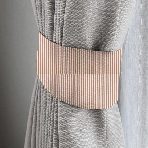 Blazer Stripe Peony Tieback