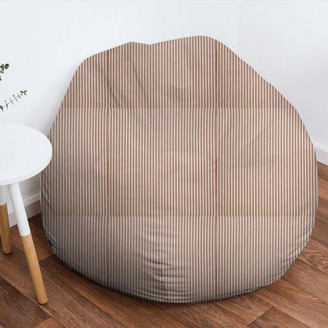 Blazer Stripe Peony Bean Bag