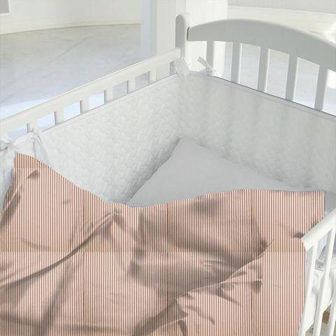 Blazer Stripe Peony Cot Duvet Cover