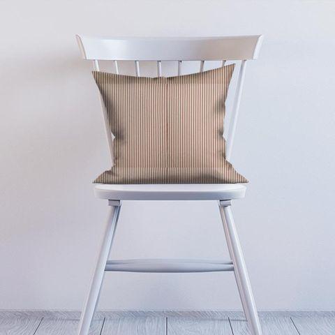 Blazer Stripe Peony Cushion