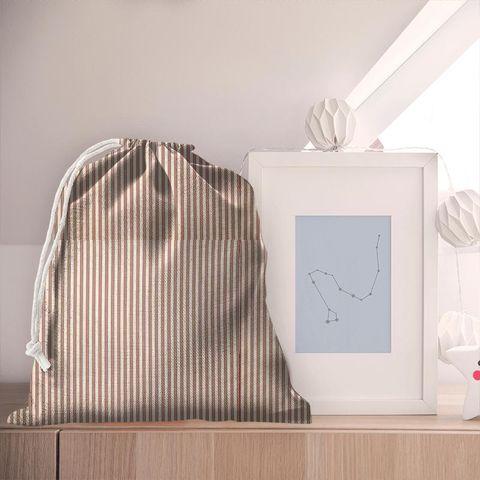 Blazer Stripe Peony Pyjama Bag