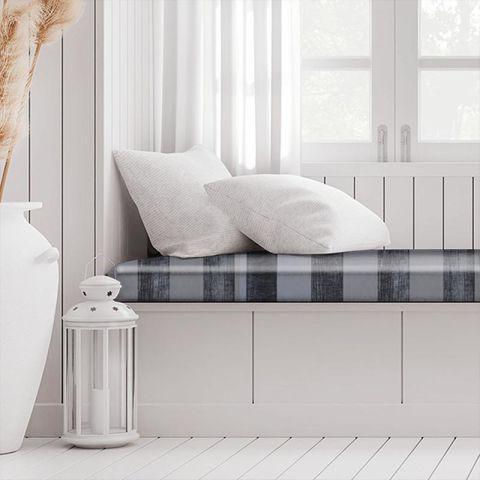 Boheme Stripe Granite Box Cushion