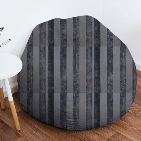 Boheme Stripe Granite Bean Bag
