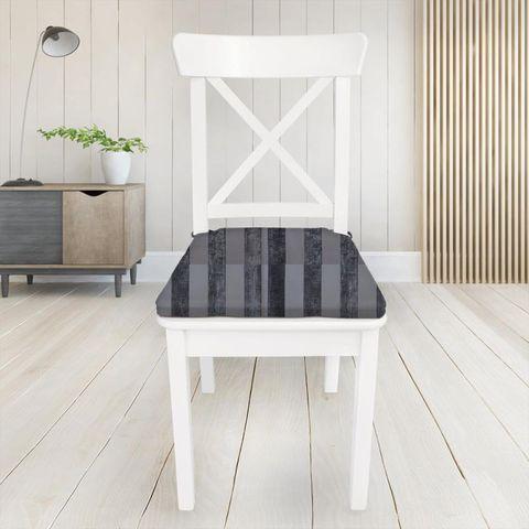 Boheme Stripe Granite Seat Pad Cover