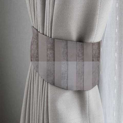Boheme Stripe Mink Tieback