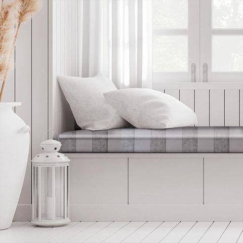 Boheme Stripe Mink Box Cushion