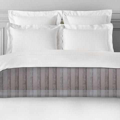 Boheme Stripe Mink Bed Runner