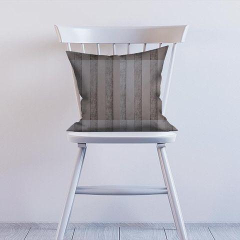 Boheme Stripe Mink Cushion