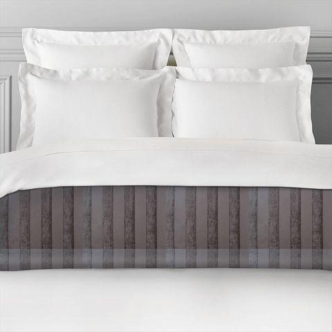 Boheme Stripe Mocha Bed Runner