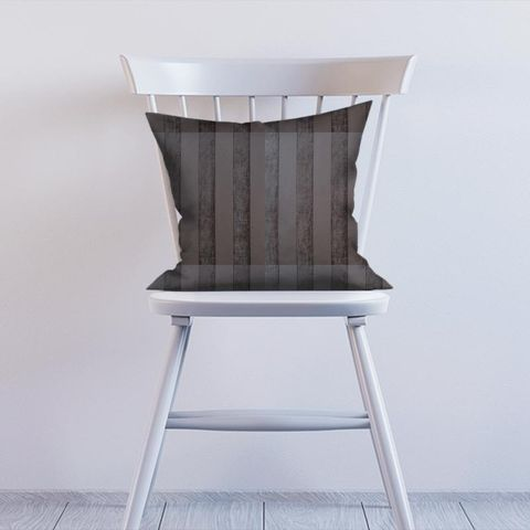 Boheme Stripe Mocha Cushion
