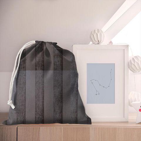 Boheme Stripe Mocha Pyjama Bag